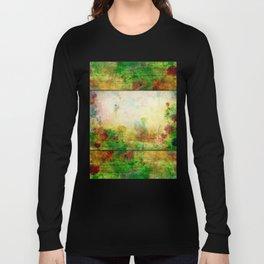 Ginkelmier Land ~ Watercolor Fairy Garden Long Sleeve T-shirt