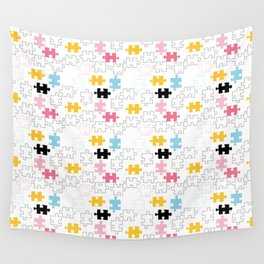 Endless puzzle cute Wall Tapestry