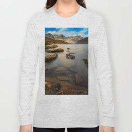 Ogwen Lake Snowdonia Long Sleeve T-shirt