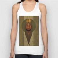 queen Tank Tops featuring Queen by Everton Blake Jamaican Yardy Paradise