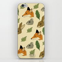 woodland iPhone & iPod Skins featuring woodland by Melrose Illustrations