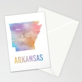 Watercolor State - AR Stationery Cards