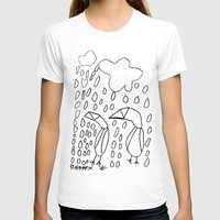 penguins T-shirts featuring Penguins by Carina Malmgren