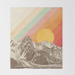 Mountainscape 1 Throw Blanket