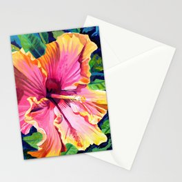 Tropical Bliss Hibiscus Stationery Cards