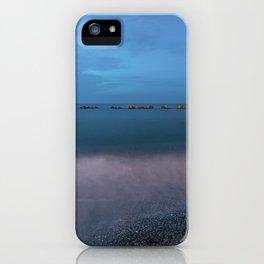 Night seascape iPhone Case