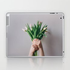 Yay Tulips! Laptop & iPad Skin