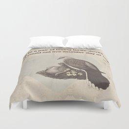 Like to a pair of loving turtle-doves Duvet Cover