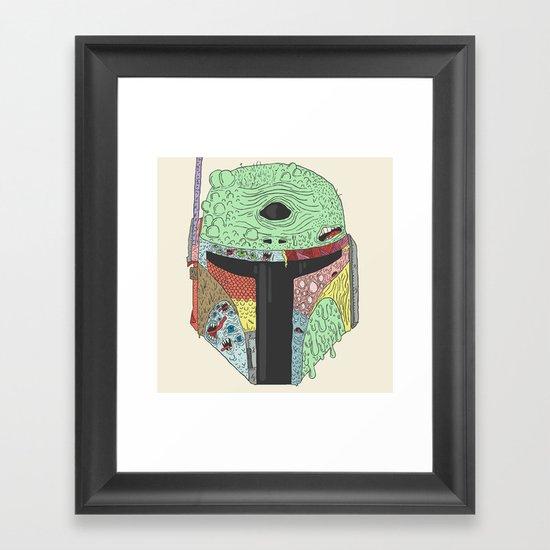 Gorba Fett Framed Art Print