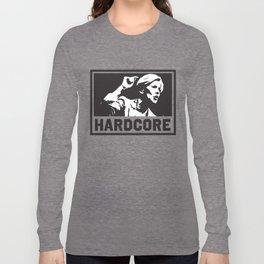 Hardcore Elizabeth Warren Long Sleeve T-shirt
