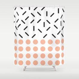 Punto y Linea Shower Curtain