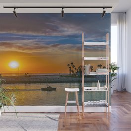 The End of the Day Wall Mural
