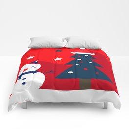 Mr Snowman & Mr Tree Comforters