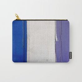 Blue White Blue Carry-All Pouch