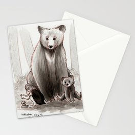 The Bearclan Stationery Cards