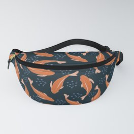 Goldfish in the pond Fanny Pack