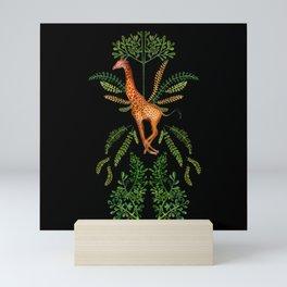 Giraffe Carousel Mini Art Print