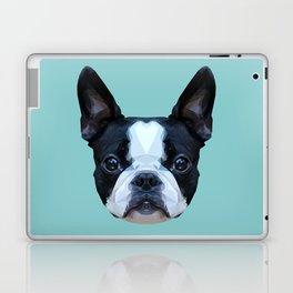 Frenchie / Boston Terrier // Blue Laptop & iPad Skin