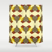 diamond Shower Curtains featuring Diamond by DLKG Design