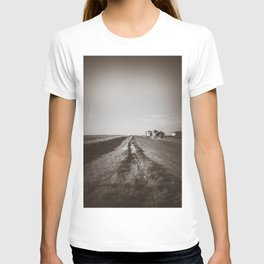 Walkin' on a Country Road, Sepia T-shirt