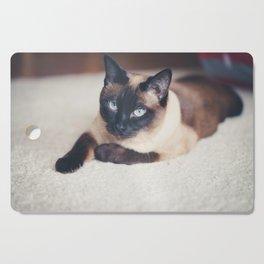 Siamese Cat Cutting Board