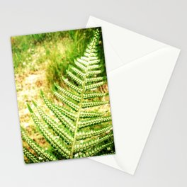 Green Fern Stationery Cards