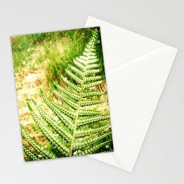 Green Fern Stationery Cards