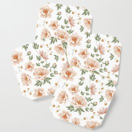 Flower pattern home design Coaster
