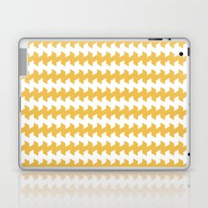 jaggered and staggered in mimosa Laptop & iPad Skin