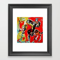 Good Dog Framed Art Print