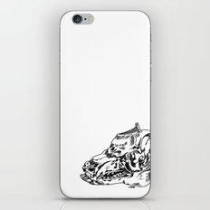 Pig Skull iPhone & iPod Skin