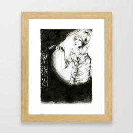 +...The Wrong Hand...+ Framed Art Print