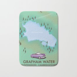 Grafham water Cambridgeshire Bath Mat