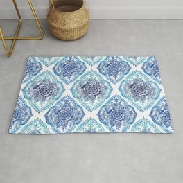 Indian Ink - in Blues Rug