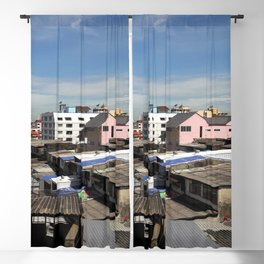 Communities in the capital of Thailand. Blackout Curtain