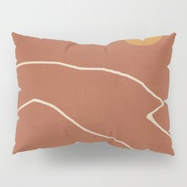 Minimal Abstract Art Landscape 2 Pillow Sham