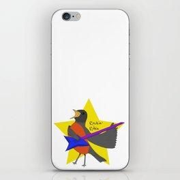 Rockin' Robin iPhone Skin