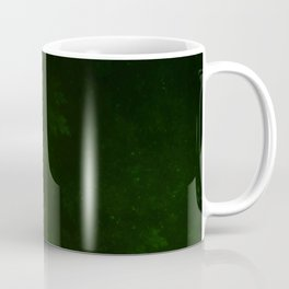 Beautiful Fractal Pines in the Misty Spring Night Coffee Mug