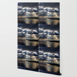 Sunbeams over Exmouth Wallpaper