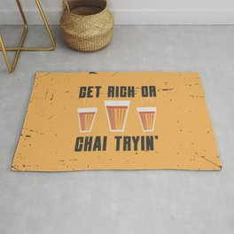 Funny Chai Quote Rug