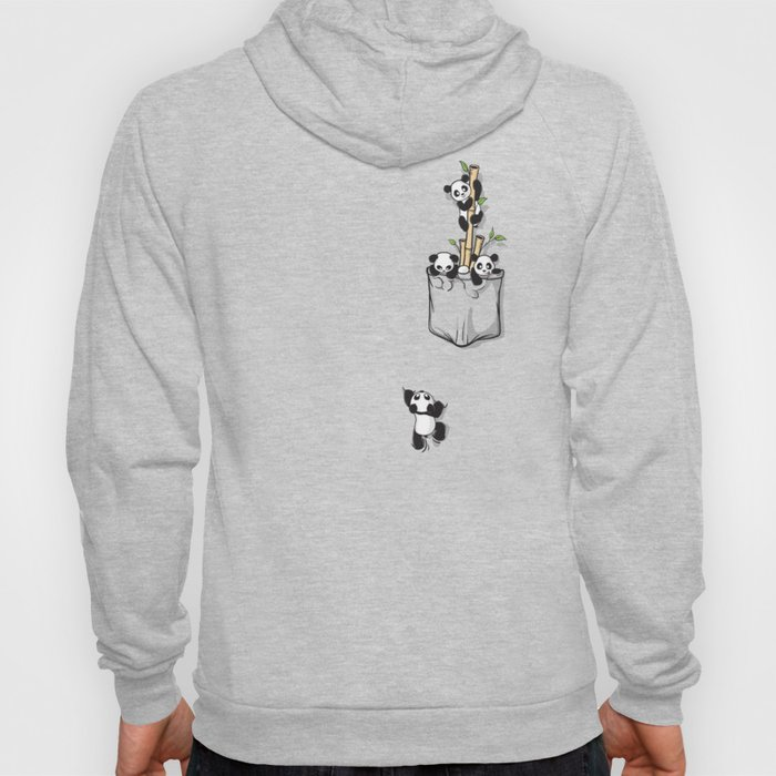 Cute Pocket Pandas Hoody