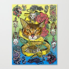 Cat-Too 2 Canvas Print