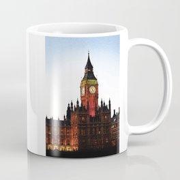 London and Big Ben at Dusk Coffee Mug