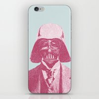 darth iPhone & iPod Skins featuring Darth Vader by NJ-Illustrations