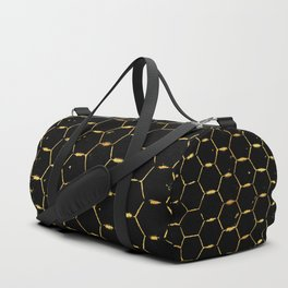 golden beehive Duffle Bag