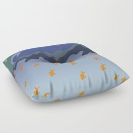 Stars and Fish Floor Pillow