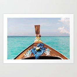 Summer in Thailand Art Print