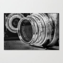 Classic Lenses Canvas Print