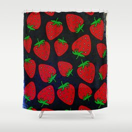 Strawberry pattern Shower Curtain