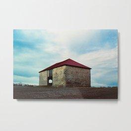 Barn, Best Farm, Urbana Maryland Metal Print